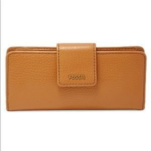 Fossil Madison Leather Clutch Wallet